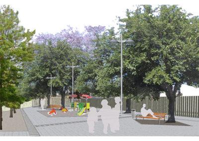 Proyecto de urbanización barrio del Xenillet. Torrent.