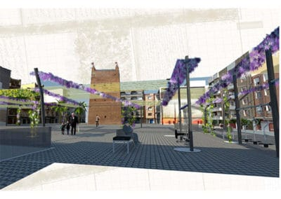 Concurso Reurbanización de la Plaza de Colón. Torrent