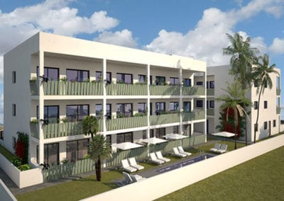Apartamentos en la playa de Puçol