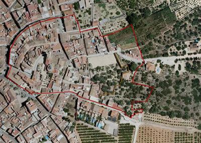 "Estudio de Integración Paisajística. PEP Muralla ""El Rafalí"". La Font den Carròs."