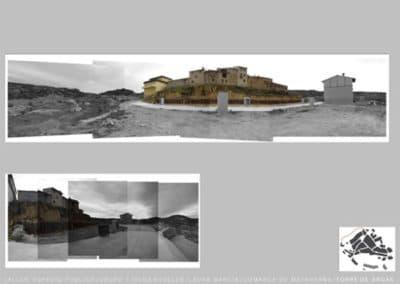 Diseño de entorno. Torre Arcos. Vistas actuales.