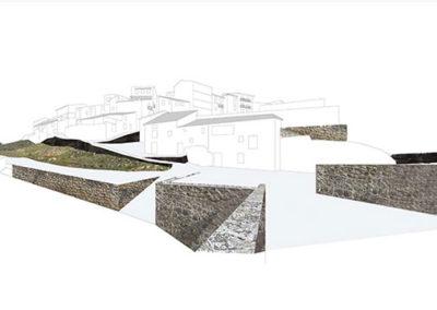 Diseño de entorno. Torre Arcos. Montaje de límites de la ciudad.